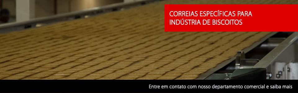 Correias para Indústria de Biscoitos